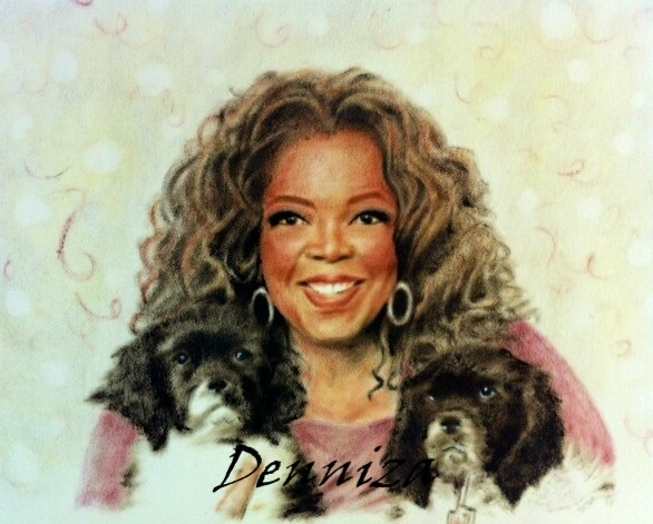 Oprah Winfrey by deniart5